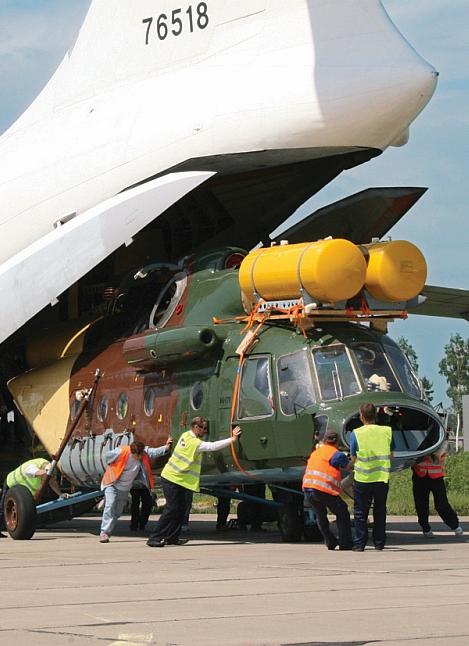 Перевозка опасных грузов на воздушном транспорте